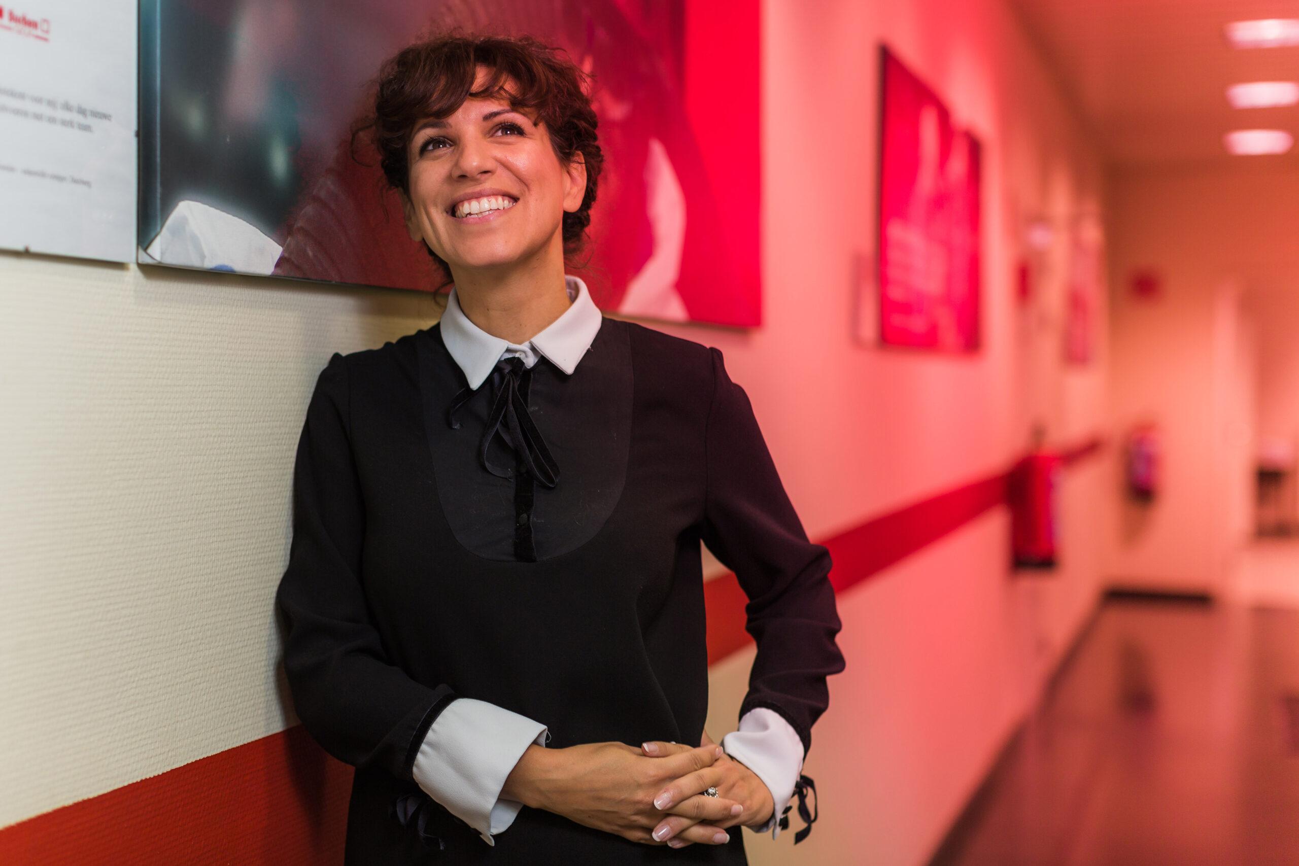 Corporate fotoshoot van Daniela el kadi - CEO van Buchen Group in België