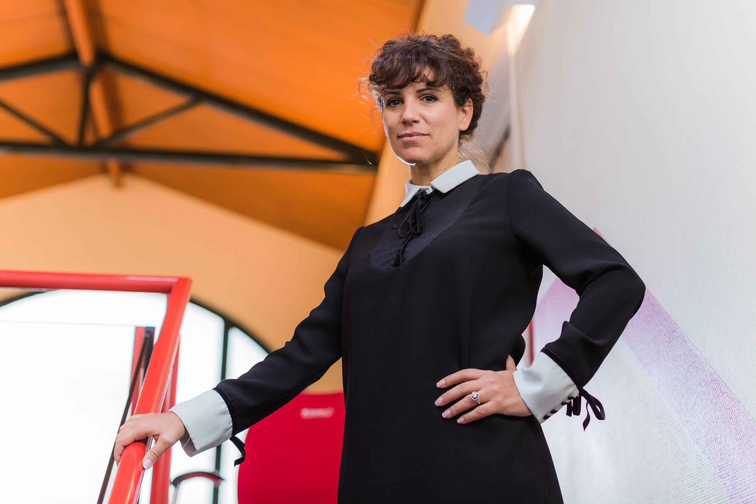 Corporate fotoshoot van Daniela el kadi - CEO van Buchen Industrial Services in België