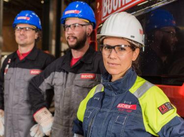 Corporate Fotoshoot CEO Buchen industrial