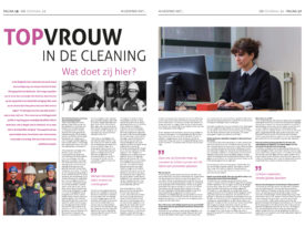 Corporate fotoshoot van Daniela el kadi in het SIR Journaal