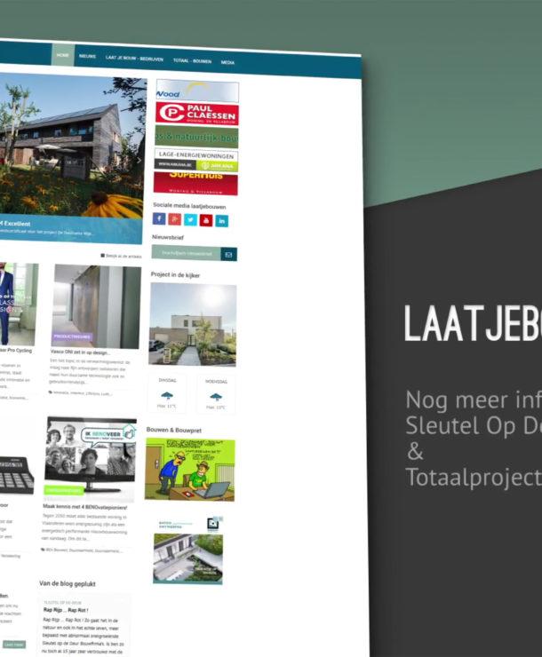 Voorstellingsvideo Laatjebouwen.be