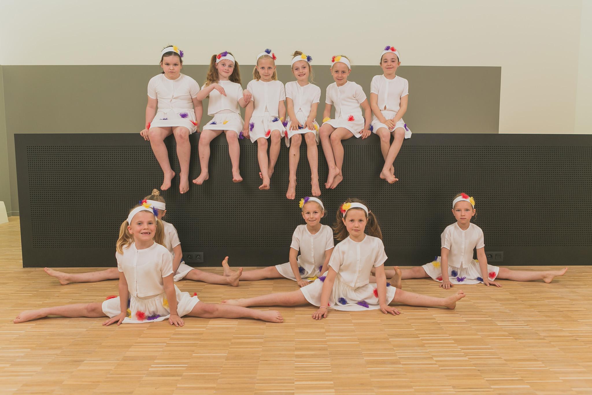 Dansvoorstelling academie mwd geel - repetities