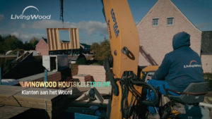 Testimonial video voor Livingwood Houtskeletbouw via Ipad video