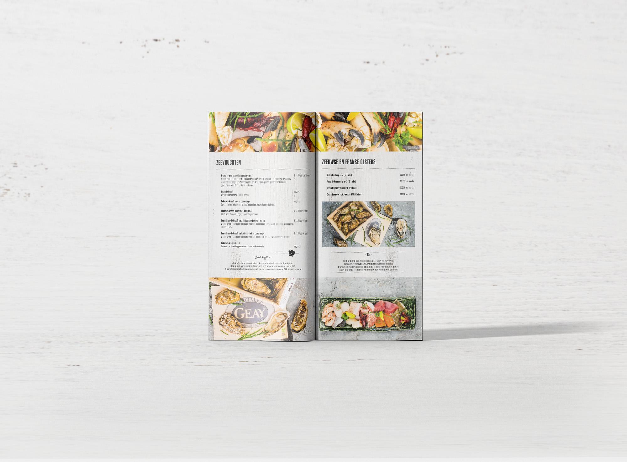 Feestfolder Sysmans Food Stores - Zeevruchtenschotels