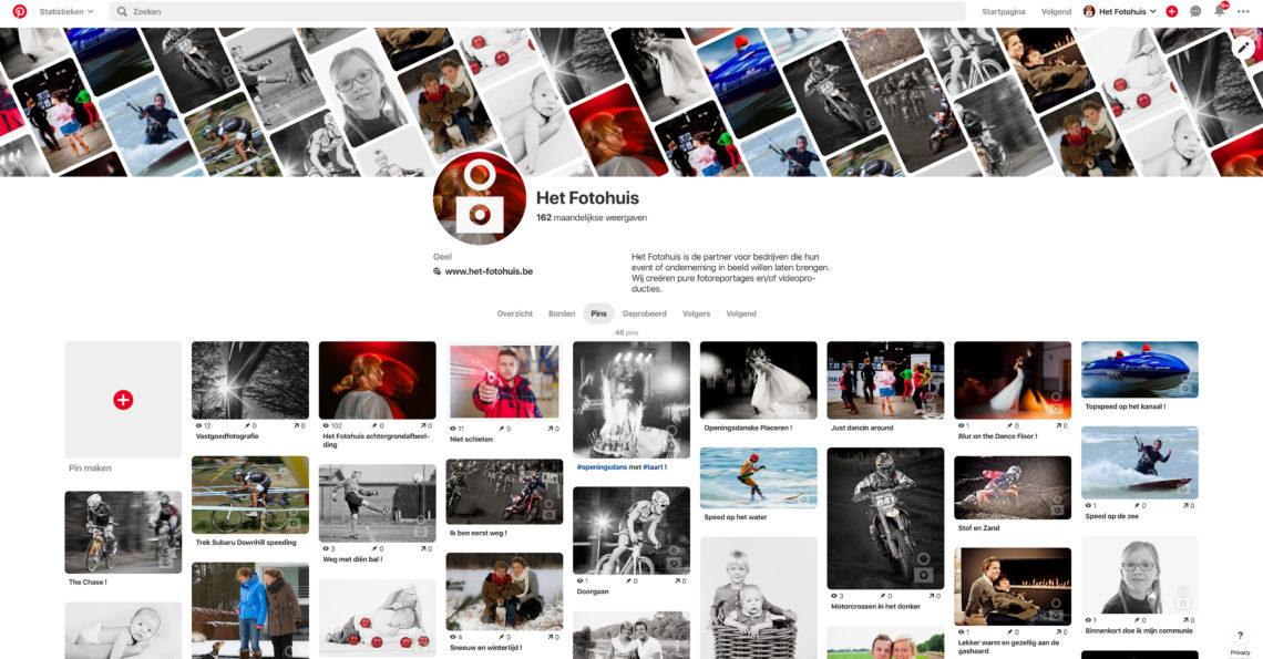 Het Fotohuis is ook aanwezig op Pinterest, hét online prikbord voor al je creatieve ideeën, originele afbeeldingen en niet-te-missen trends. ...