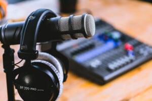 Podcasts en geluidsproducties
